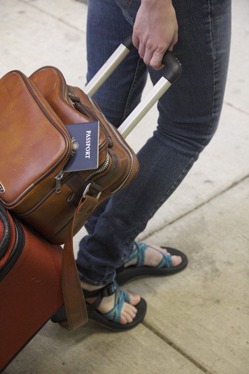 travel, passport, journey